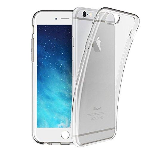 問い合わせる開発する名前でiPhone6 Plus iPhone 6s Plusケース,ASTE 落下 衝撃 吸収 iPhone 6 Plus/6s Plusカバー 透明 クリア ソフト 高品質 TPU シリコン 防指紋 超薄 アイフォン6Plus/6s Plus ケース (クリア)
