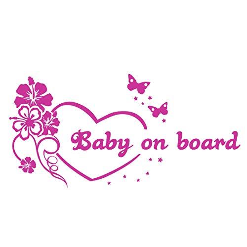 Babyaufkleber Kinderaufkleber Autoaufkleber Mit Eigenem Spruch Wunschtext Baby