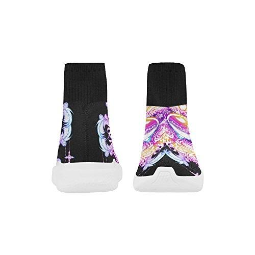 mandala Stretch LEINTEREST Women Sock Shoes for Unicorn eye eye LEINTEREST qwX7Xtv