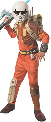 "Rubie's Kid's Star Wars Rebels Deluxe Ezra Bridger Costume, Medium, Age 5 - 7, HEIGHT 4' 2"" - 4' 6"""