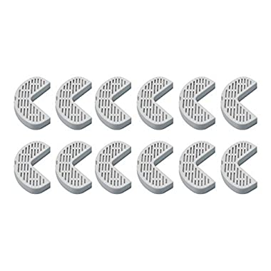 Filters for Pioneer Pet Ceramic & Stainless Steel Fountains 12 Pack