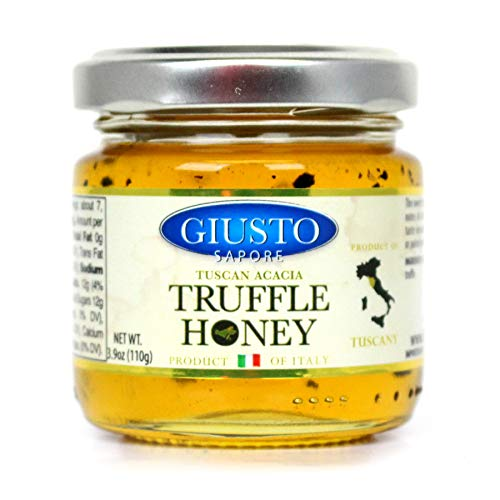 - Giusto Sapore Tuscan Italian Truffle Honey - Premium Gourmet Truffle Honey - Imported from Italy and Family Owned