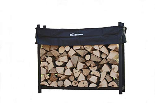 Racks Coat Log - Woodhaven The 5 Foot Firewood Log Rack with Cover
