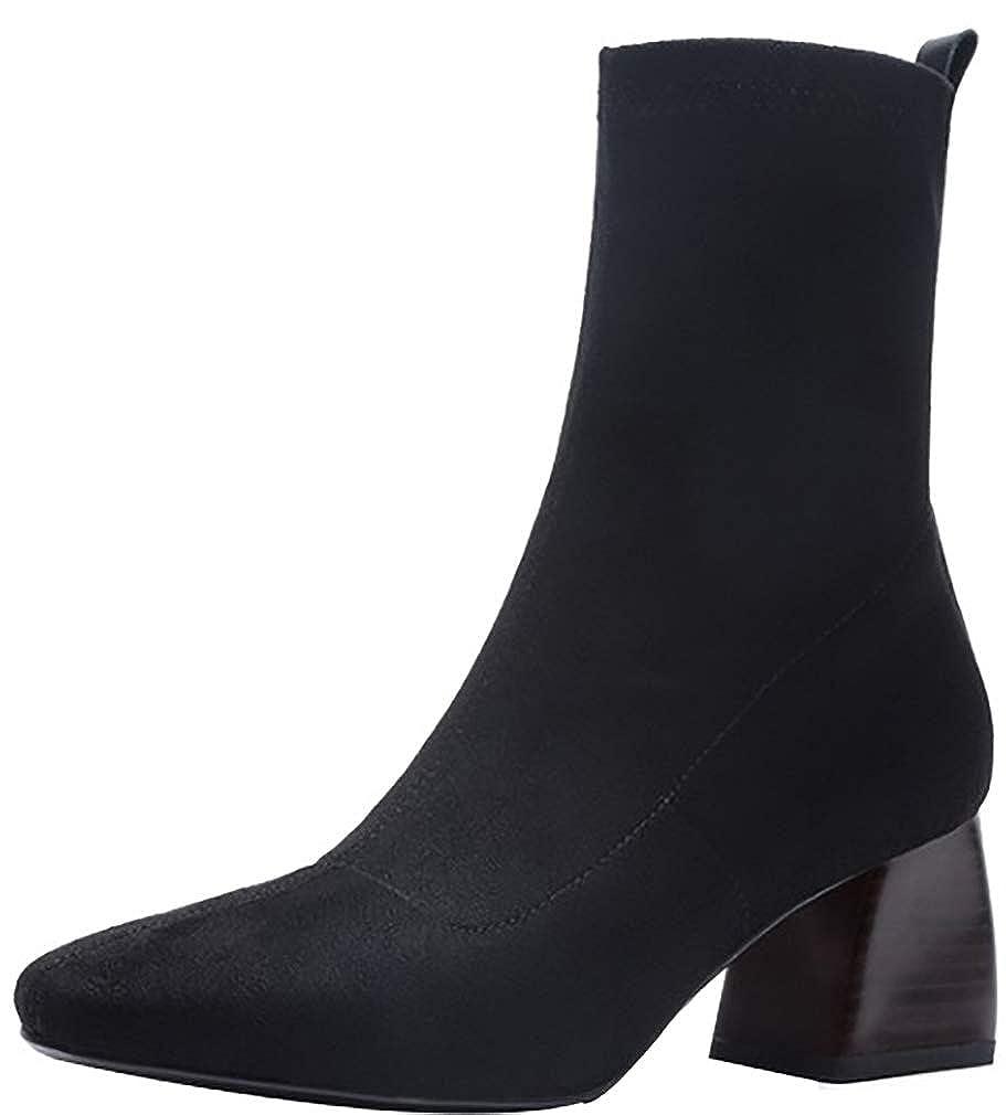 Calaier Sie Damen ankxiq 6CM Blockabsatz Ziehen Sie Calaier An Item_Type Schuhe 1374c1