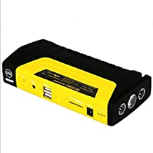 LPY-Car Jump Starter 600A 12V Peak 16800mah Battery Booster Portable Power Bank Connect Car Cigarette Lighter to Charge With Smart USB and LED Lights