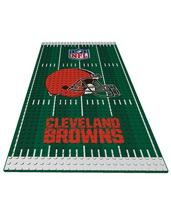 Cleveland Browns OYO NFL Display Plate Football Field for Minifigure