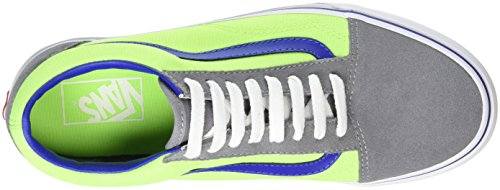 VansOld Skool - Zapatillas Unisex adulto Multicolor (Brite Frost Gray/Neon Green)