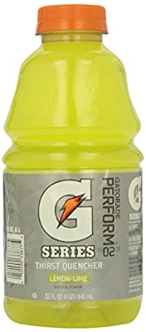Gatorade G Lemon-lime Thirst Quencher Sports Drink 32 Oz. (3 Pack)