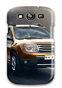 Tpu Case Cover For Galaxy S3 Strong Protect Case - Renault Duster 9 Design
