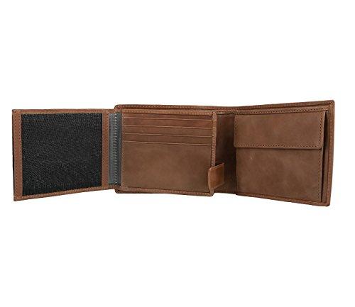 bugatti Volo Cartera piel 12 cm cognac