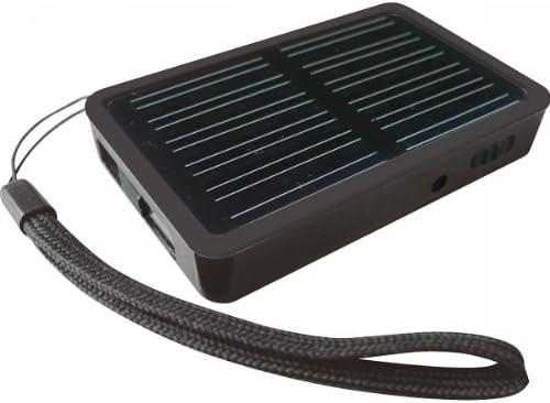 ソーラーマルチチャージャー+マイクロSDカードリーダー ブラック