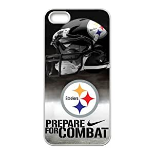 NFL Pittsburgh Steelers Team Logo High Quality Inspired Design TPU Protective cover For Iphone 5 5s iphone5-NY517