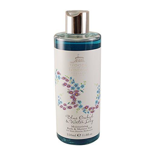 Woods of Windsor Blue Orchid & Water Lily Moisturizing Bath & Shower Gel for Women, 11.8 ()