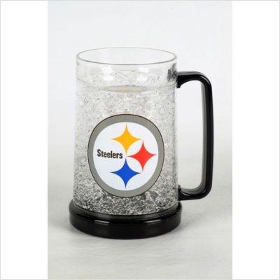 (Pittsburgh Steelers NFL Crystal Freezer Mug)