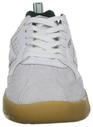 Hi-Tec Unisex Adultes Squash Classic Court Trainers - Blanc (Blanc/Vert 011) Blanc / Vert cU44l