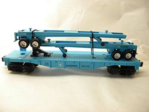lionel-36092-maersk-flatcar-with-2-die-cast-trailers