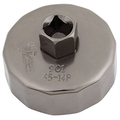 Oil Filter Cap Wrench - TOOGOO(R) Cap Oil Filter Socket Wrench Cup Tool 65mm ID 14 Flutes