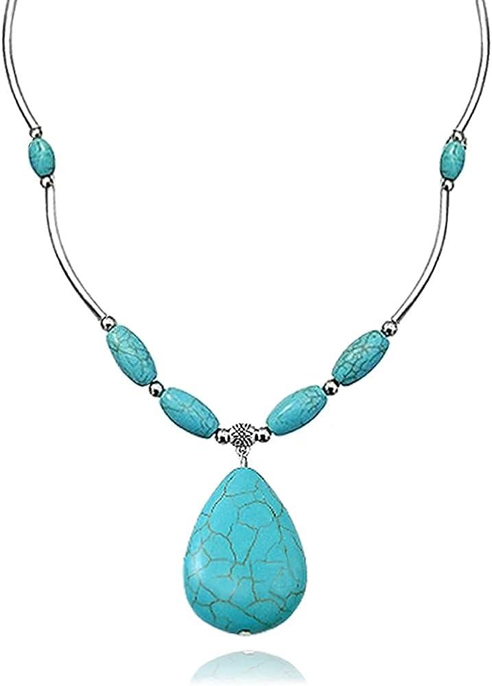 western necklace western fashion 60 beads necklace boho necklace Layering beads