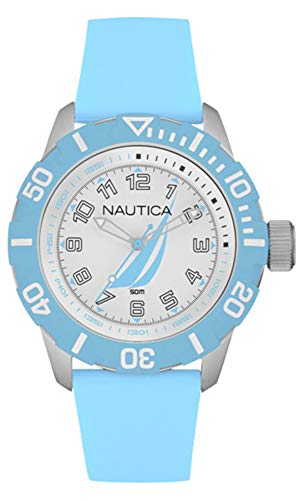 - Nautica nsr-100 j-Class Womens Analog Quartz Watch with Rubber Bracelet NAI08515G