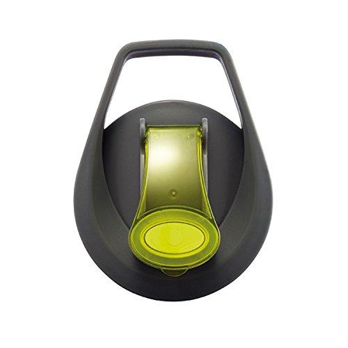 gr/ün 800ml XD Unisex-Adult Wasserflasche mit Aromafach