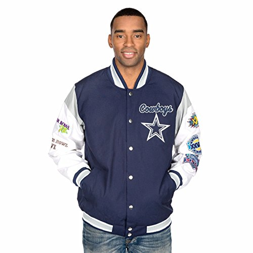 Dallas Cowboys Men's Elite Varsity Jacket XX-Large