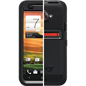 OtterBox Defender Series for HTC EVO 4G LTE - Retail Packaging - Black