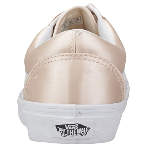 Vans Old Skool Baskets Femme Rose Satin Lux - stuckeychiro.com f166e93d53b4