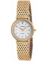 Jowissa Men's J4.098.L Nuoro Gold PVD Stainless Steel Mesh Bracelet Watch