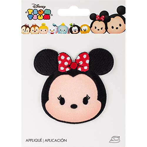 - Wrights 193 1900 Disney Tsum Iron-On Applique, Minnie Mouse