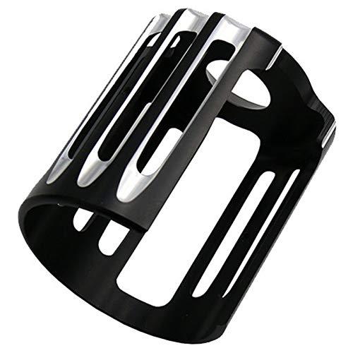 Semoic Cubierta del Filtro De Aceite De La Motocicleta Metal CNC para Harley Sportster XL883 1200 48 Dyna Softail Touring Flhr CVO Rejilla De Aceite De M/áquina Negra