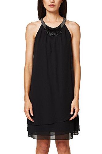 ESPRIT Collection Vestido para Mujer Negro (Black 001)