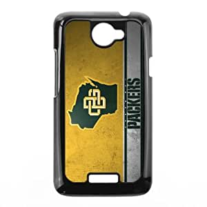 Green Bay Packers Team Logo HTC One X Cell Phone Case Black persent zhm004_8467324