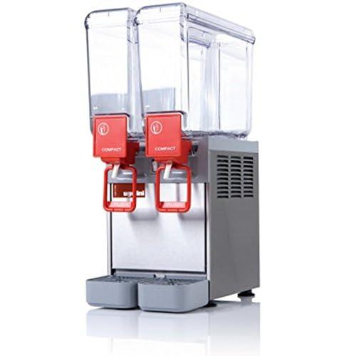 Distributeur de boissons froides 2x8 litres - L250 x P400 x H630 - UGOLINI