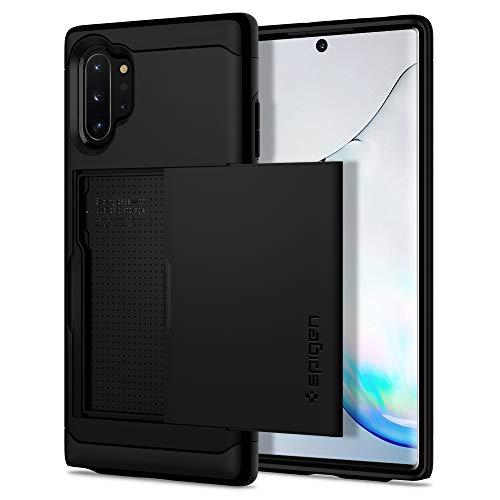 Spigen Slim Armor CS Designed for Samsung Galaxy Note 10 Plus Case/Galaxy Note 10 Plus 5G Case (2019) - Black