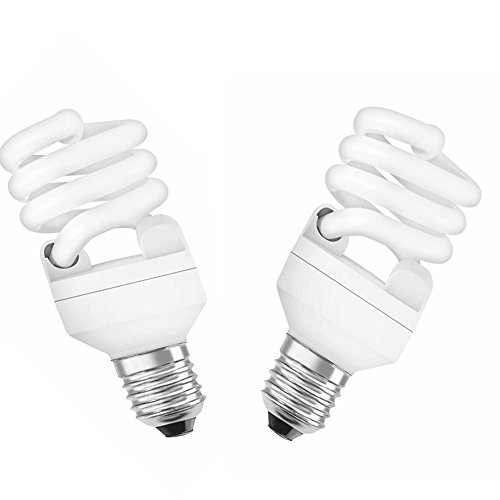 Samson 15W E27 Spiral CFL Bulb (White, Pack.. Image
