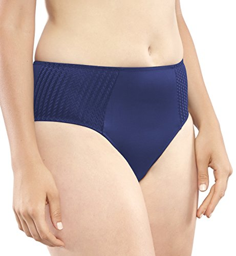 Carole Martin Women's Hipster Panties, Ultra Soft Microfiber Comfort Briefs Underwear Medium Blue