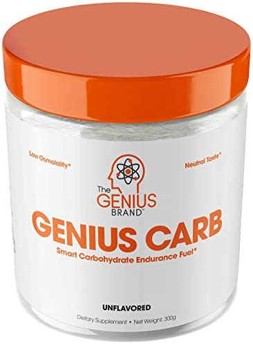 Genius Carbohydrate Powder Smart Carb Source for Pre, Intra or Post Workout Sustain Energy, Speed Recovery and Gain Lean Muscle Mass Healthier Alternative to Dextrose – Sport Performance Drink