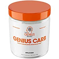 Genius Carbohydrate Powder – Smart Carb Source for Pre, Intra or Post Workout |Sustain Energy, Speed Recovery and Gain Lean Muscle Mass – Healthier Alternative to Dextrose - Sport Performance Drink
