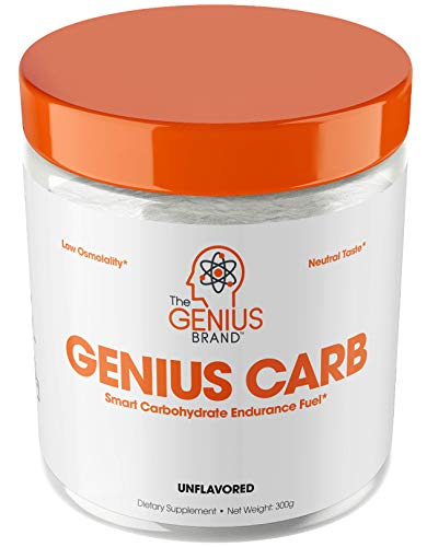 Genius Carbohydrate Powder - Smart Carb Source for Pre, Intra or Post Workout |Sustain Energy, Speed Recovery and Gain Lean Muscle Mass - Healthier Alternative to Dextrose - Sport Performance Drink