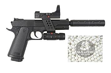 Beretta M92 A1 Tactical Metallschlitten elektrik AEG Softair 0, 5 J 6 mm BB Federdruck Metallslide