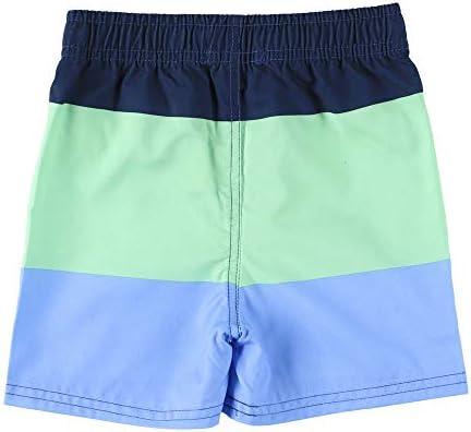 RUFFLE BUTTS ラッフルバッツ RUGGET BUTT BOYS Swim Trunks 【BWSBL2T-LHSB】(サイズ:2T、カラー:Light the Way) [並行輸入品]