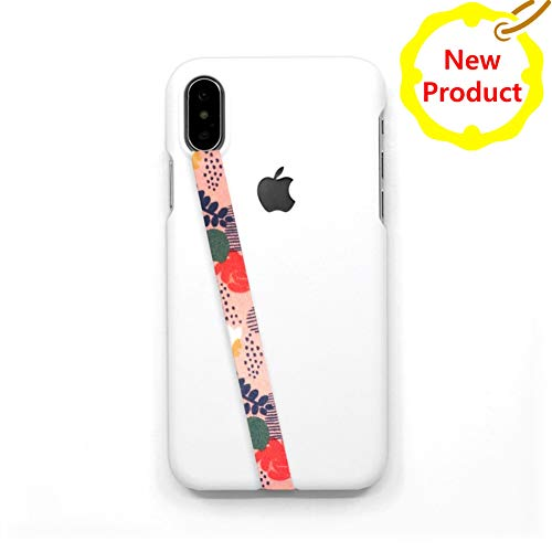 DEZENT Cell Phone Roof Straps - Upgrade Cell Phone Grips and Design (Pink Garden)