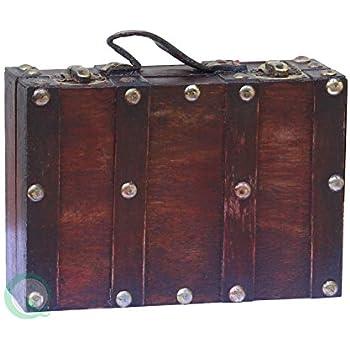this item vintiquewisetm antique style suitcasedecorative box smallmini - Decorative Box