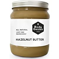 BODY GENIUS Hazelnut Butter. Contiene SOLO y nada más que Avellanas. Made in Spain.1000 gr