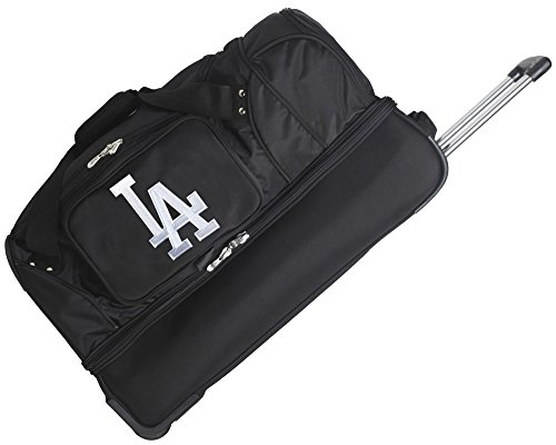 NBA 27'' 2-Wheeled Travel Duffel NBA Team: Milwaukee Bucks by Denco Sports Luggage