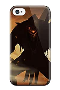 New Style Protective Tpu Case With Fashion Design For Iphone 4/4s (styx: Master Of Shadows)