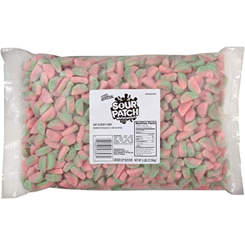 Sour Patch Soft & Chewy Candy, Watermelon, 5lb Bag