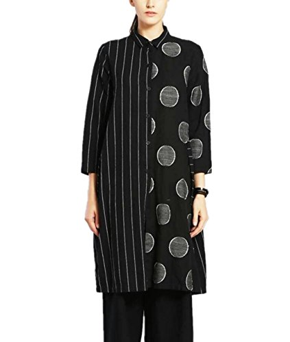 Linen Striped Dress - 9