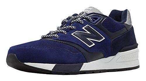 New Balance Mens 597 Mode Sneaker De La Mode Marine