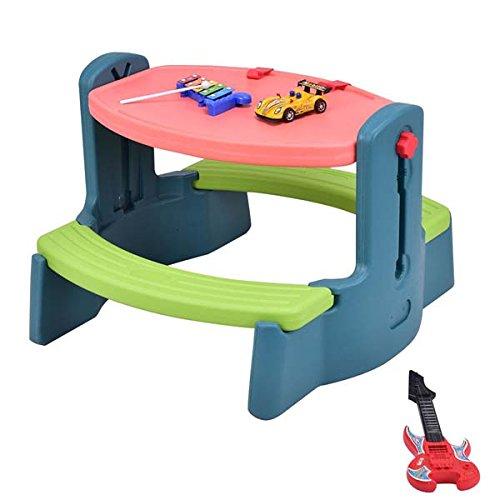 Children Drawing Table Desk - Bundle with Development Toys